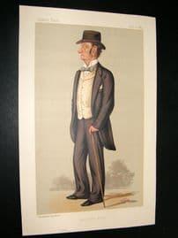 Vanity Fair Print 1889 Lord Justice Barry