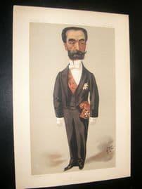 Vanity Fair Print 1889 Maxie Francois Sadi Carnot