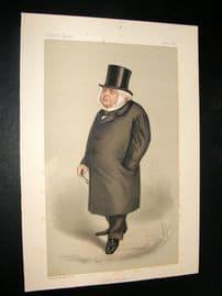 Vanity Fair Print 1889 Mr. J. Bright