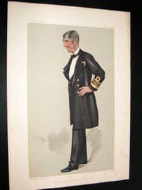 Vanity Fair Print 1889 Sir. J. E. Commerell
