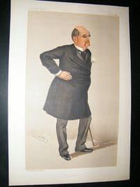 Vanity Fair Print: 1889 William Kendal Robertson