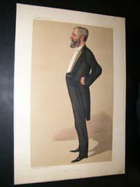 Vanity Fair Print 1890 Arthur Bower Forwood