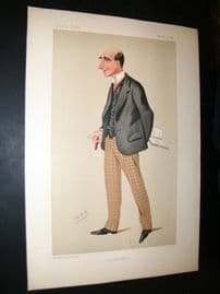 Vanity Fair Print 1890 Arthur Wing Pinero, Theatre