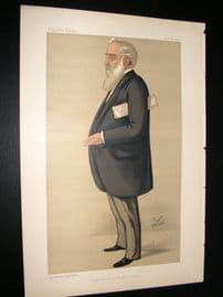 Vanity Fair Print 1890 Howard John Kennard