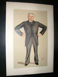 Vanity Fair Print: 1890 James Monro, Police