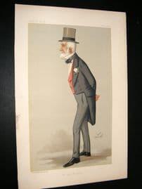 Vanity Fair Print 1890 James Weatherby