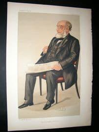 Vanity Fair Print: 1890 John Jaffray, Newspapermen