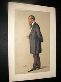 Vanity Fair Print 1890 Johnathan Hutchinson