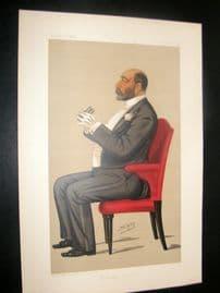 Vanity Fair Print 1890 Reuben David Sassoon, Banker