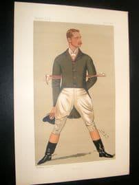 Vanity Fair Print 1890 William Henry Grenfell, Sport Rider