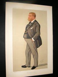 Vanity Fair Print 1891 Christopher Wyndham Wilson