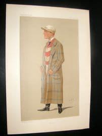 Vanity Fair Print 1891 H. Mornington Cannon - Jockey