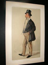 Vanity Fair Print 1891 J. Aird
