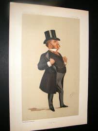 Vanity Fair Print 1891 J. B. Maple