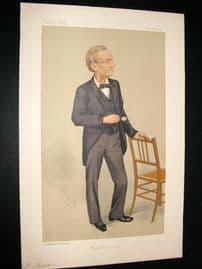 Vanity Fair Print 1891 John Hall Gladstone, Doctor
