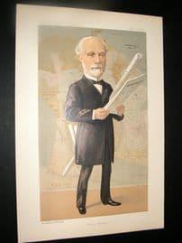 Vanity Fair Print 1891 M. C De Freycinet