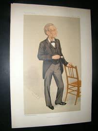 Vanity Fair Print: 1891 Prof. John Hall Gladstone, Doctor