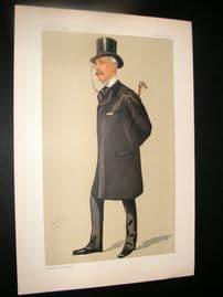Vanity Fair Print 1891 S. Bancroft