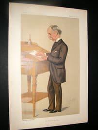 Vanity Fair Print 1891 Sir Francis Knollys