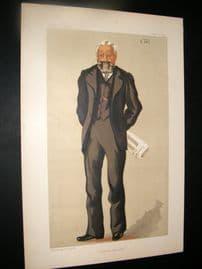 Vanity Fair Print 1891 Sir Philip Magnus