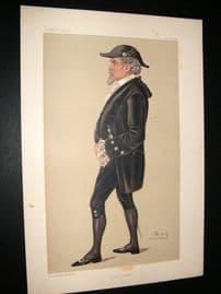 Vanity Fair Print 1891 Thomas Beard, Legal