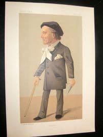 Vanity Fair Print 1891 Victorien Sardou