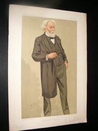 Vanity Fair Print 1892 Dr. Samuel Wilks