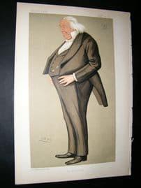 Vanity Fair Print: 1892 Frederick Joseph Bramwell, Legal