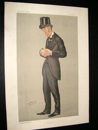 Vanity Fair Print 1892 Gainsford Bruce, Legal