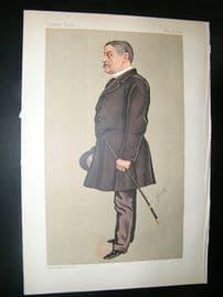 Vanity Fair Print: 1892 Henry W. John, Byng