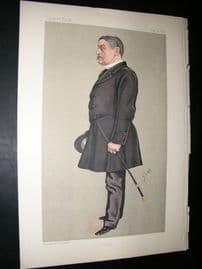 Vanity Fair Print: 1892 Henry William John Byng