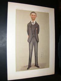 Vanity Fair Print 1892 Kenneth Howard, Spy Cartoon