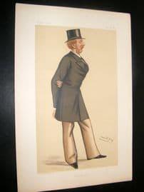 Vanity Fair Print 1892 Lord Charles William Brudenell-Bruce