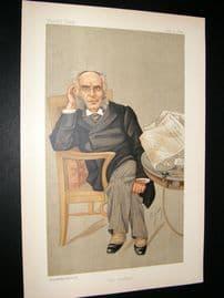 Vanity Fair Print 1892 Mr. Francis Schnadhorst