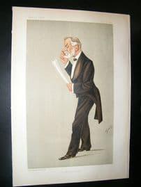 Vanity Fair Print: 1892 Robert Brudenell Carter