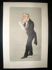 Vanity Fair Print: 1892 Robert Brudnell Cater, Doctor