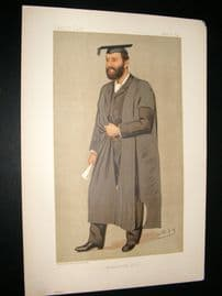 Vanity Fair Print 1892 Thomas Herbert Warren, Teacher