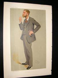 Vanity Fair Print 1892 Walter Herries Pollock, Newspaperman
