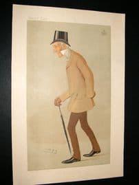 Vanity Fair Print 1893 Duke of Somerset