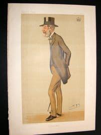 Vanity Fair Print 1893 Earl of Darnley, Spy Cartoon