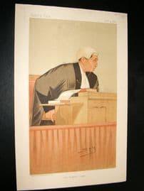 Vanity Fair Print 1893 Hon. Sir William Kennedy