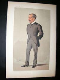 Vanity Fair Print: 1893 James Sivewright, Architect