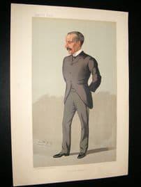 Vanity Fair Print 1893 Sir James Sivewright, Architect