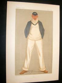Vanity Fair Print 1893 William Alfred Littledale Fletcher, Rower
