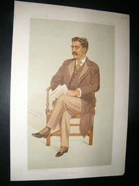 Vanity Fair Print: 1894 Clement King Shorter