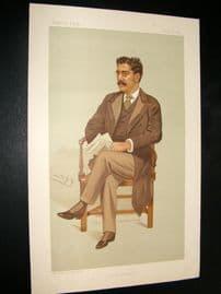 Vanity Fair Print 1894 Clement King Shorter