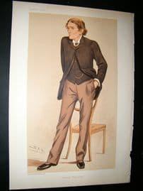 Vanity Fair Print: 1894 Dr. John Scott Burden Sanderson