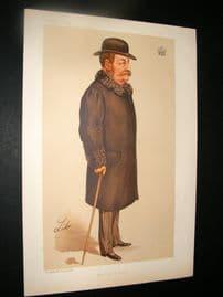 Vanity Fair Print 1894 Earl of Sefton