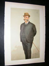 Vanity Fair Print: 1894 George Carlyon Hughes Armstrong