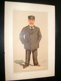 Vanity Fair Print 1894 George Jay Gould, Yachting
